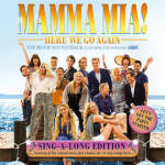 MAMMA MIA! HERE WE GO AGAIN The Movie Soundtrack Featuring the Songs of ABBA Sing-a-long Edition CD/DL