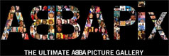 "ABBAPIX ""The Ultimate ABBA Picture Gallery""."
