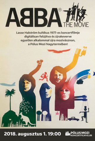 Pólus Koncertfilm Klub - ABBA - The Movie (1977)