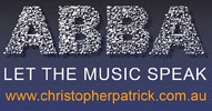 ABBA Let The Music Speak - www.christopherpatrick.com.au