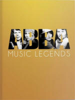 ABBA - Music Legends book and 2DVD