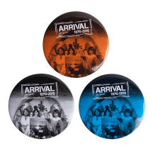 Arrival 1976-2016 badges