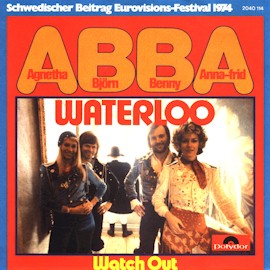 Single, English version Polydor West Germany 1974