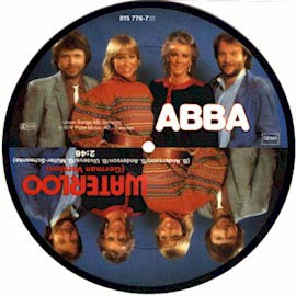 Picture disc single, German version (from Singles Collection 1972*1982 box set) Polydor West Germany 1983