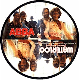 Picture disc single, French version (from Singles Collection 1972*1982 box set) Polydor West Germany 1983
